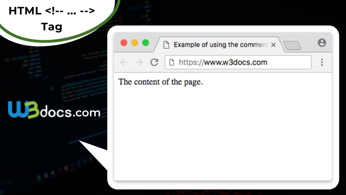 HTML <   ...   > tag
