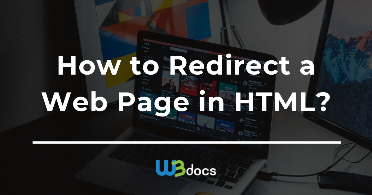 How to Redirect a Web Page in HTML